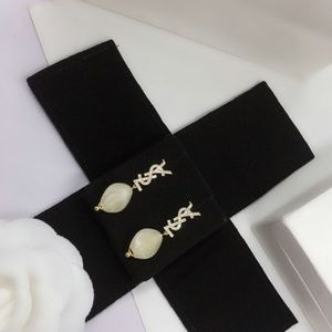 YSL  Pearl Earrings